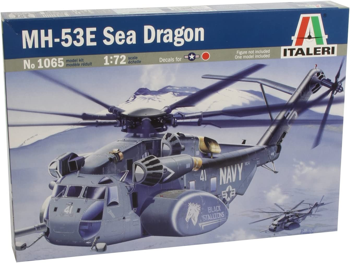 1:72 Mh-53e Sea Dragon Helicopter Model Kit