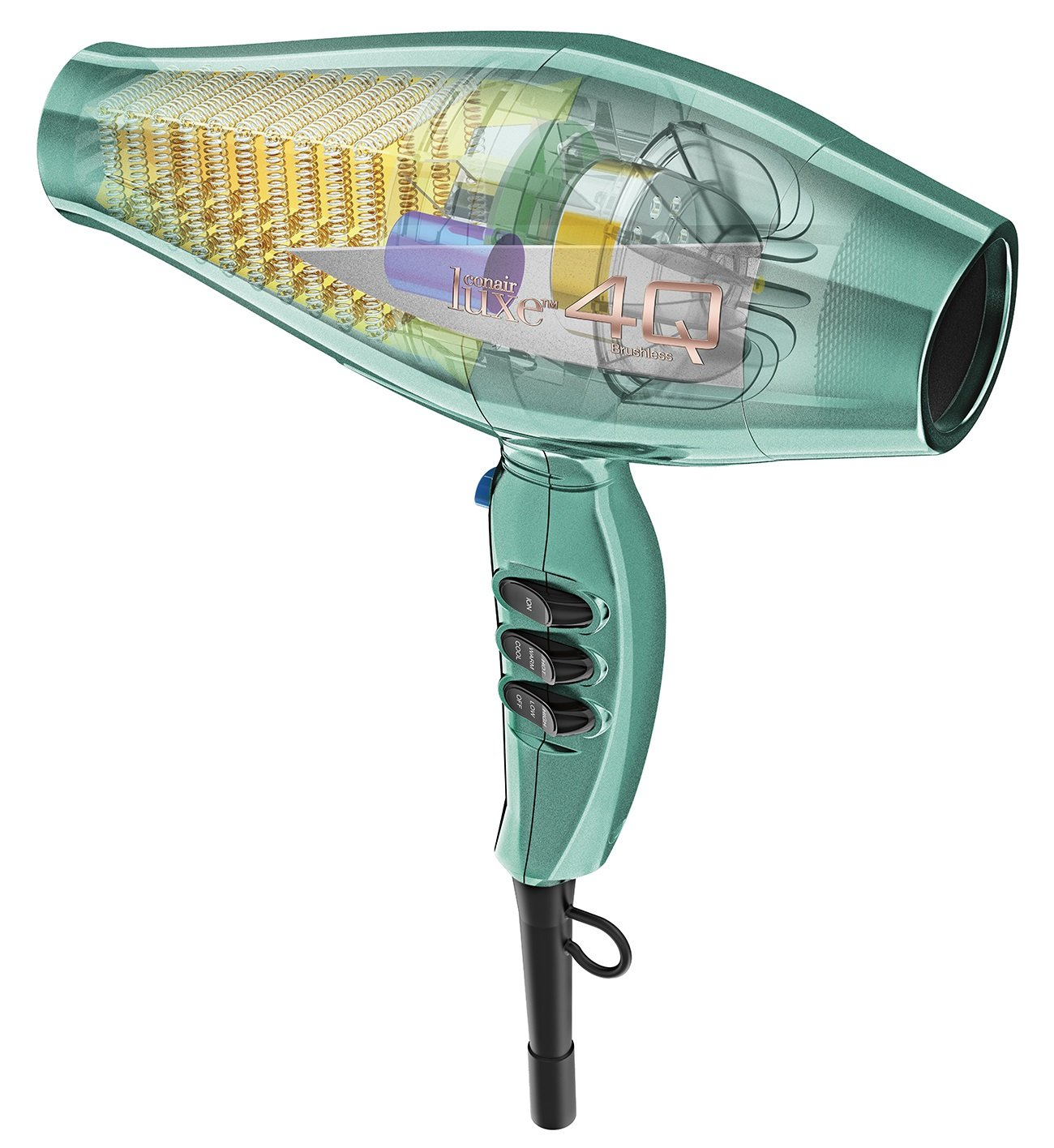 Amazon.com: Conair Luxe 4Q Heatprotect Brushless Motor Technology Styling Tool/Hair Dryer, Magenta: Beauty