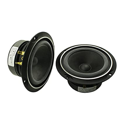 CNSZNAT 4 Inch Full Range Speakers 8 Ohm 25W Hifi For Audiophiles DIY Refit
