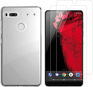 Funda Essential Phone PH-1,Flexible Suave Transparente TPU Gel ...