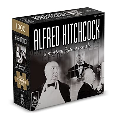 Classic Mystery Jigsaw Puzzle - Alfred Hitchcock: Toys & Games