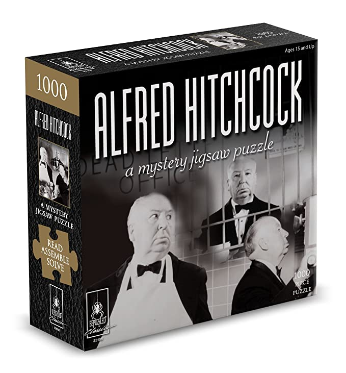 Amazon com: Classic Mystery Jigsaw Puzzle - Alfred Hitchcock
