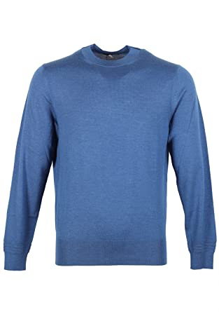 f15378ba1 Tom Ford CL Blue Crew Neck Sweater Size 48   38R U.S. Cashmere Silk ...