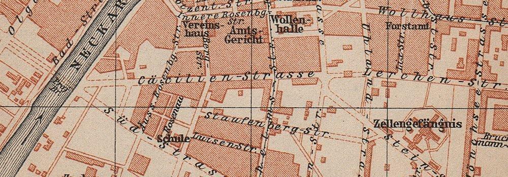 Heilbronn Karte Stadtplan.Amazon Com Heilbronn Antique Town City Stadtplan Baden