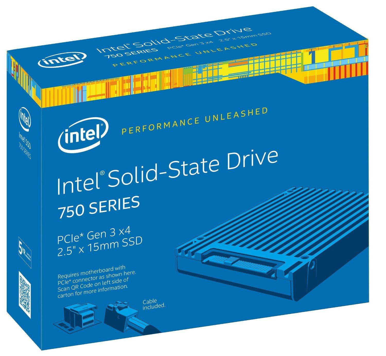 Intel 750 Unidad de Estado sólido 1200 GB PCI Express 3.0 MLC 2.5 ...