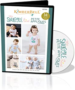Kimberbell Embroidery Machine CD: The Snuggle is Real Petite Applique (KD580)