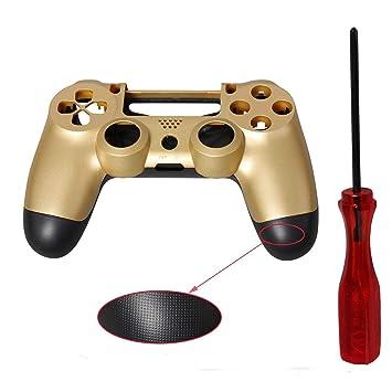Carcasa Mando PS4, ENDARK Carcasa de plástico con Carcasa rígida para PS4 Playstation 4 Controlador + Destornillador (Carcasa de Controlador de 1 ...
