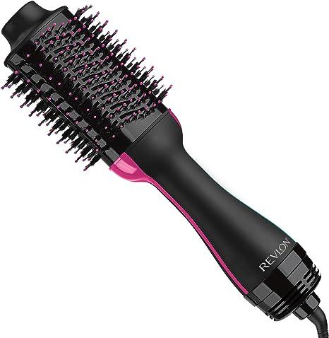Revlon RVDR5222 Salon One Step Hair Asciugacapelli e Volumizzante, 800 W, NeroFuchsia