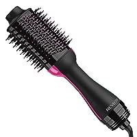 Revlon One-Step Hair Dryer And Volumizer Hot Air Brush, Black (Packaging May Vary)