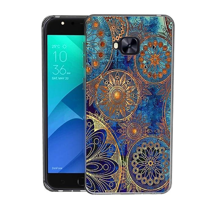 2 opinioni per Zenfone 4 Selfie ZD553KL Custodia Cover, FoneExpert® Silicone Caso Molle di TPU