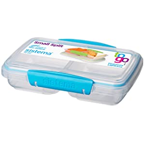 Sistema 11.8 Ounce Small Split Storage Container (Colors may vary)