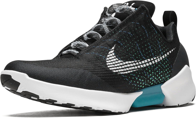 horno Disciplinario candidato  Amazon.com | Nike Mens Hyper Adapt 1.0 Black/White-Blue Lagoon Mesh |  Fashion Sneakers