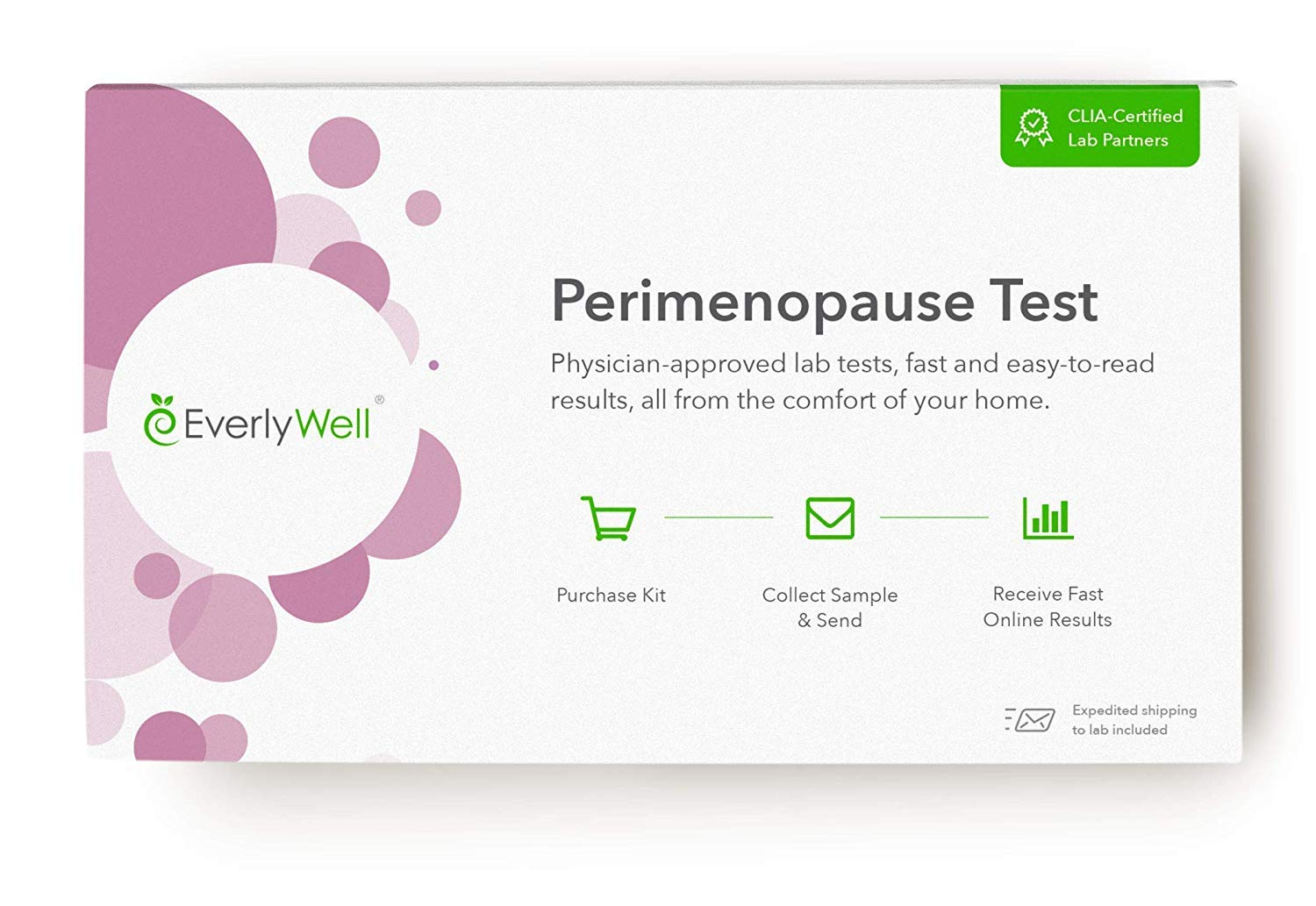EverlyWell - at-Home Perimenopause Tests - Check in with Key Hormones Levels That May Be Changing as You Age (Not Available in RI, MD, NY, NJ) by Everly Well