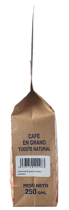 Cafés AMADOR - Café MOLIDO EXTRAFINO Natural Arábica - BRASIL ...