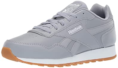 7727a0757a38 ... best price reebok mens classic harman run sneaker cool shadow white gum  936b6 a4f4e
