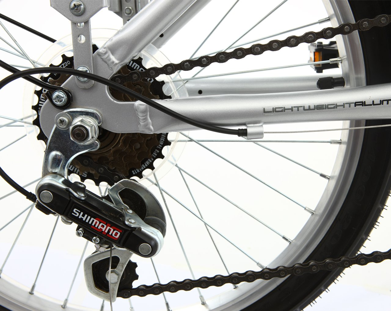 Mizani City+ - Bicicleta urbana plegable plata plata: Amazon.es: Deportes y aire libre