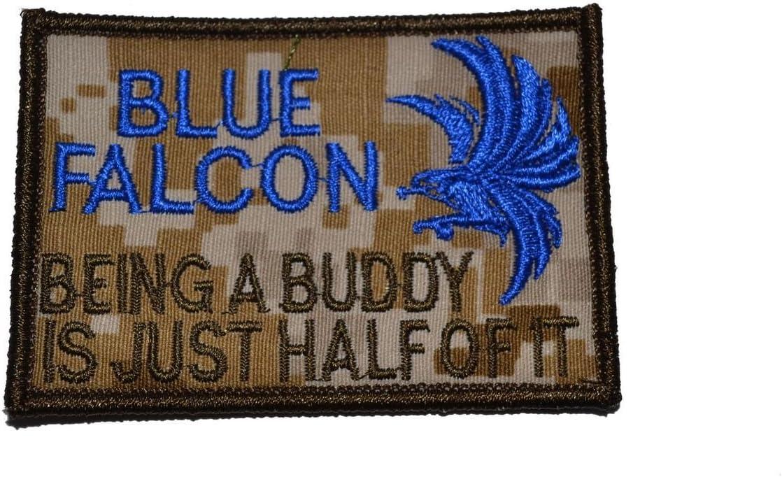 Blue Falcon Morale Patch