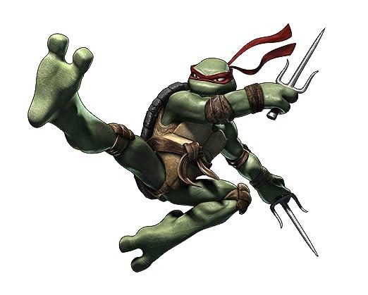 Stickersnews - Stickers Tortue Ninja Raphael 15133 ...