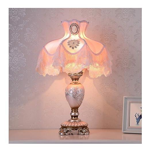 WFTD Lámpara de Mesa Victoriana, lámpara de Noche de Princesa de ...