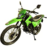 250cc Dirt Bike Hawk 250 Enduro Street Bike Motorcycle Bike ,Green
