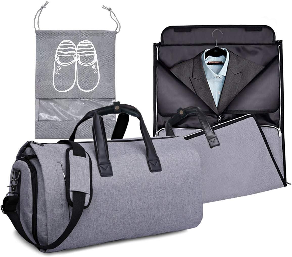 Amazon.com: Bolsas de ropa para viajes, bolsas de trajes con ...