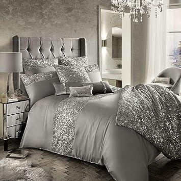 Kylie Minogue House De Couette Cadence   Matelassé/sequins   Soie Luxueuse    Argenté