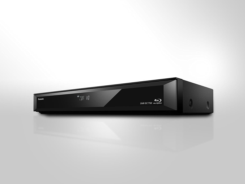 disque dur de 500 Go, lecture de disques Blu-ray, 2x DVB-C et DVB-T, argent Panasonic DMR-BCT765EG Enregistreur Blu-ray