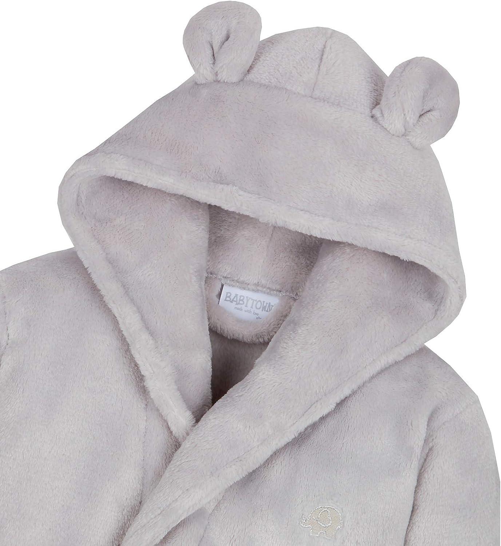 Lora Dora Bata de lana con capucha para beb/é-ni/ñas