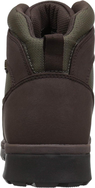 7.5 D US Lugz Mens Zeolite Mid Fashion Boot Black//Charcoal
