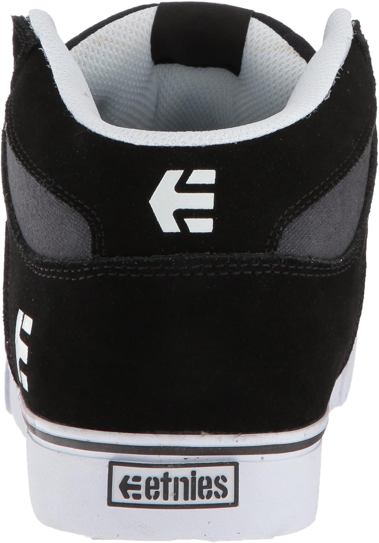 Etnies Men's RVM Skate Shoe Black/Charcoal/Red