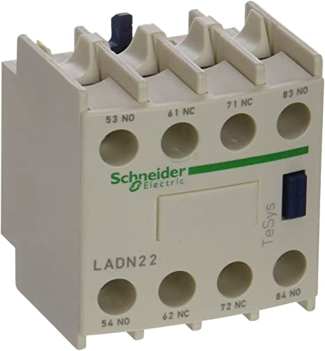 Schneider Electric LADN22 Auxiliary Contact Block NEW