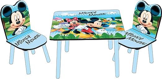 Tisch Motive Glossy teiligBlau Print60 HolzMDF Disney 60 x 42 Mouse und mit x Mickey cm3 Stühle xCedoWEQrB