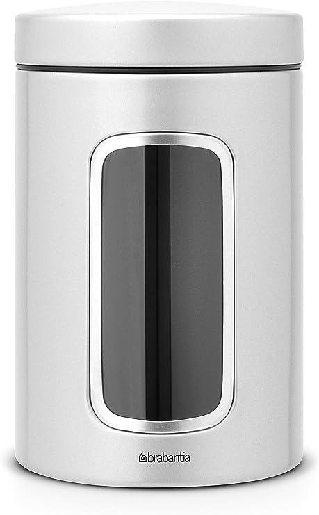 Brabantia - Bote para conservar alimentos con ventana (1,4 litros ...