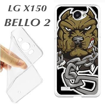 K108 FUNDA CARCASA LG X 150 X150 BELLO 2 BLANDA GEL TPU ...