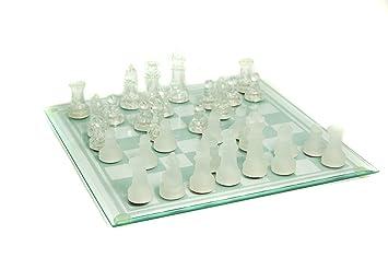 Spiele 1 Schach Spiel Schachspiel aus Glas