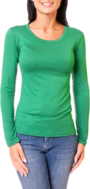 Skiny Damen Beige Shirt Langarmshirt ,
