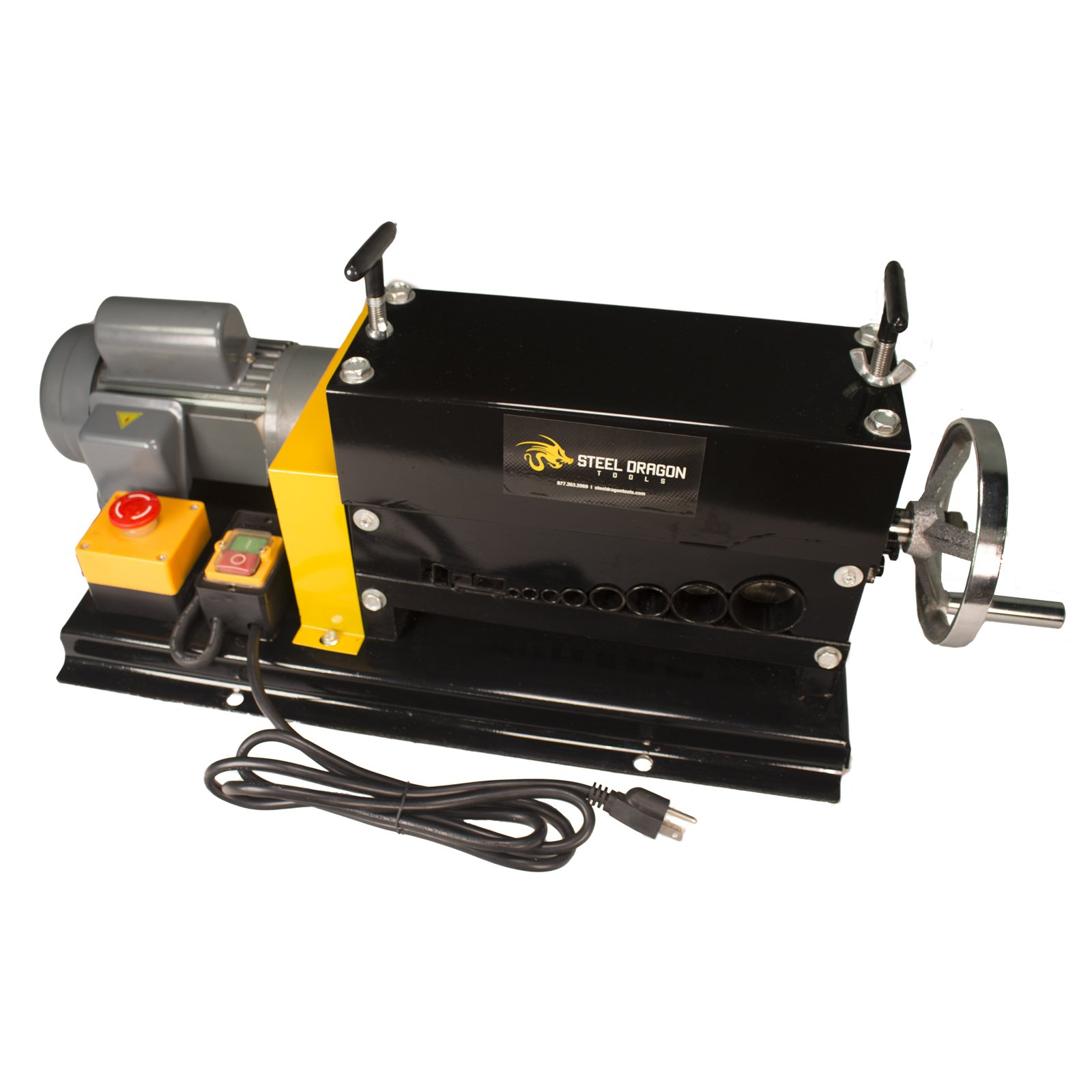 Steel Dragon Tools WRA35 Automatic Wire Stripping Machine Strip Scrap Copper Wire by Steel Dragon Tools (Image #1)