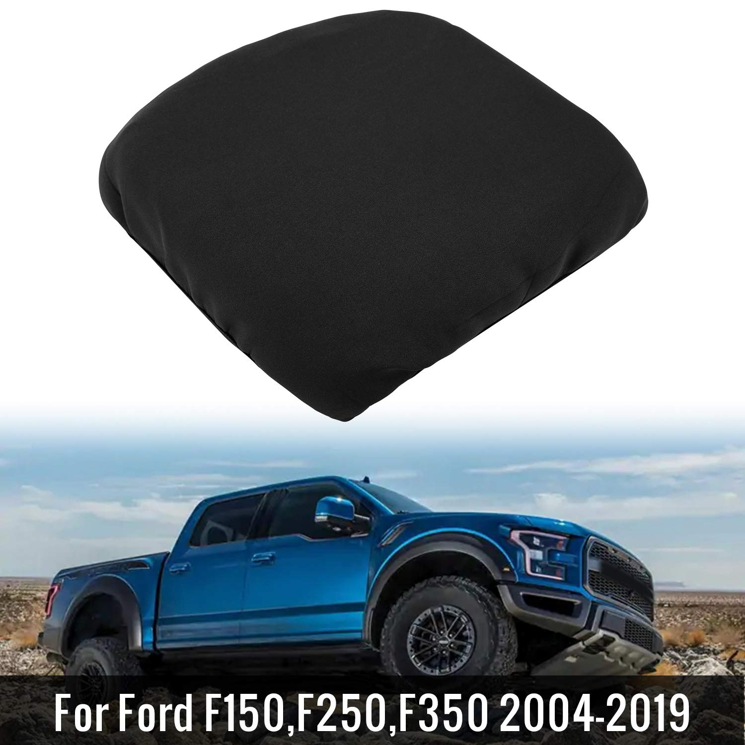Seven Sparta Center Console Cover for Ford F150, F250, F350 2004-2019, Waterproof Anti-Scratch Car Console Cover, Center Console Armrest Protector, Your Console Lid Must Open and Match Photo Shown by Seven Sparta