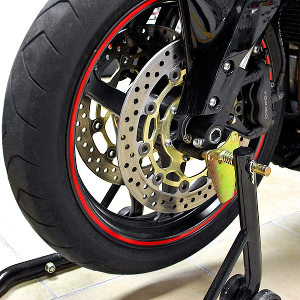 RVT1000R 2000-2006 w//Spools For Honda RC51 Venom Motorcycle Front+Rear Dual Lift Stand