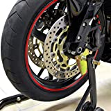 Venom Motorcycle Front+Rear Spool Dual Lift Stand