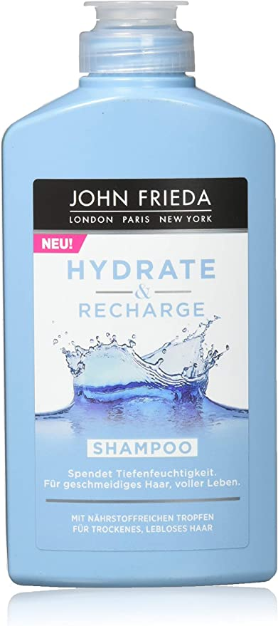 John Frieda Hydrate & Recharge Deep Moisture Shampoo 250 ml