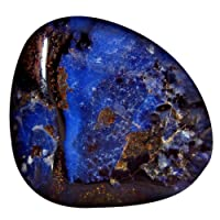 20.89 ct Fancy Shape (22 x 19 mm) Play of Colors Australian Koroit Boulder Opal Natural Loose Gemstone