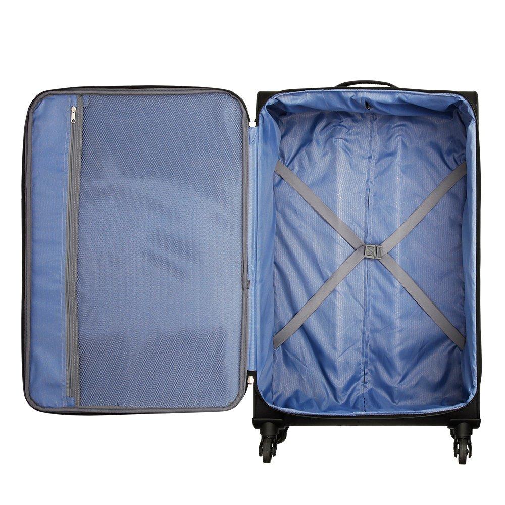 Grand Case Grande valise Cabin Max Copenhagen /à transporter en soute dot/ée de 4 roulettes Easyroll 360 et d/'une capacit/é de 100 litres
