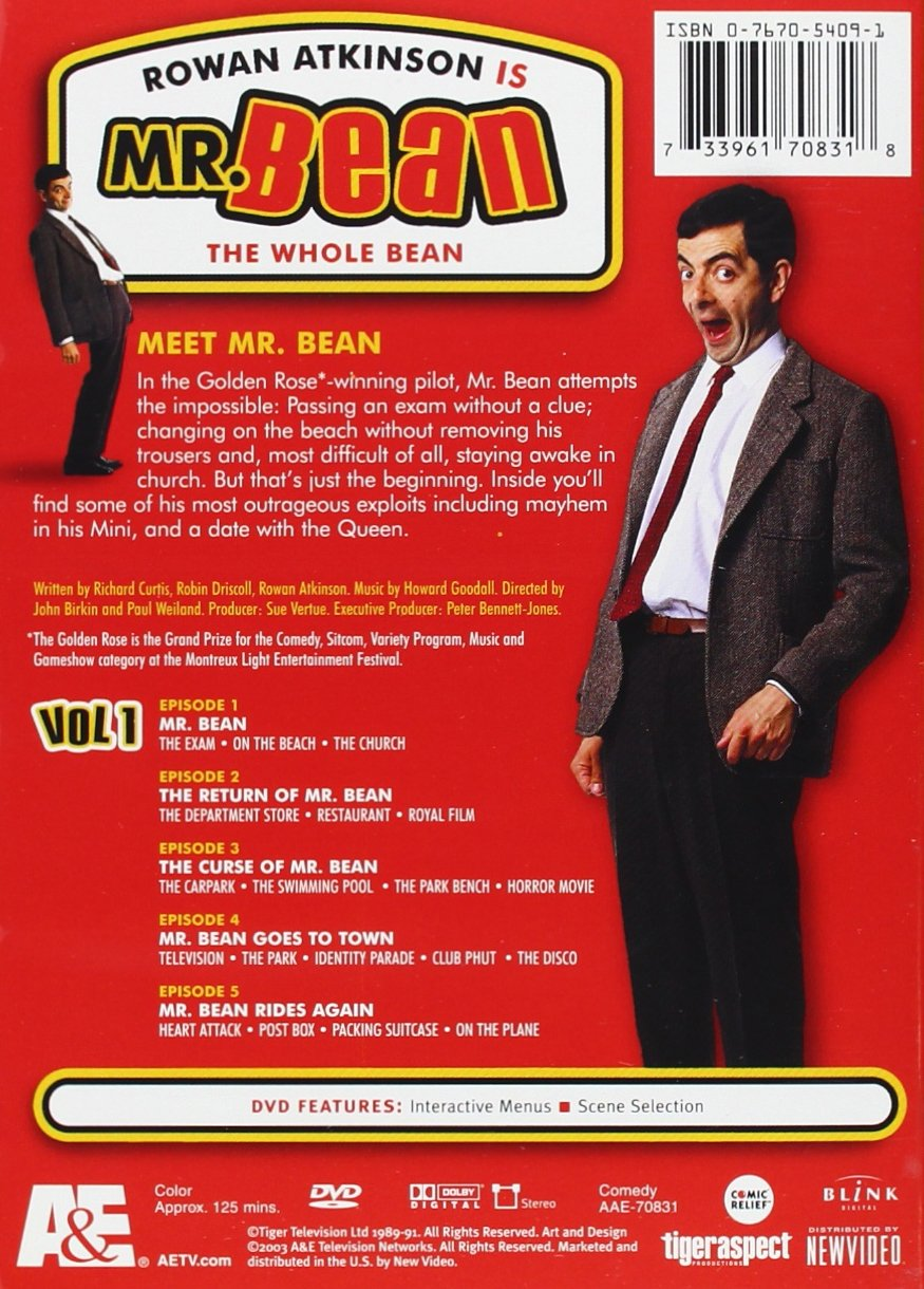 Amazon mr bean the whole bean complete set rowan atkinson amazon mr bean the whole bean complete set rowan atkinson matilda ziegler robin driscoll matthew ashforde roger sloman susie mckenna solutioingenieria Images