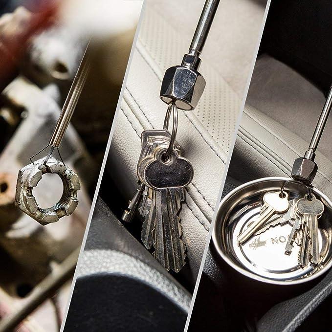 Gazechimp 10 Paar Unsichtbare Magnetknopf Magnetische Snap Geldb/örse Befestigung 19mm 15mm zum N/ähen Tasche Sammelalben Basteln Kleidung 15mm