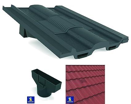 Tejas de ventilación para azulejos en línea y adaptador de ...