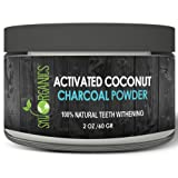 Amazon Price History for:Sky Organics Teeth Whitening Activated Coconut Charcoal Powder (2oz) - Natural Teeth Whitening with No Sensitivity- For a Whiter & Brighter Smile