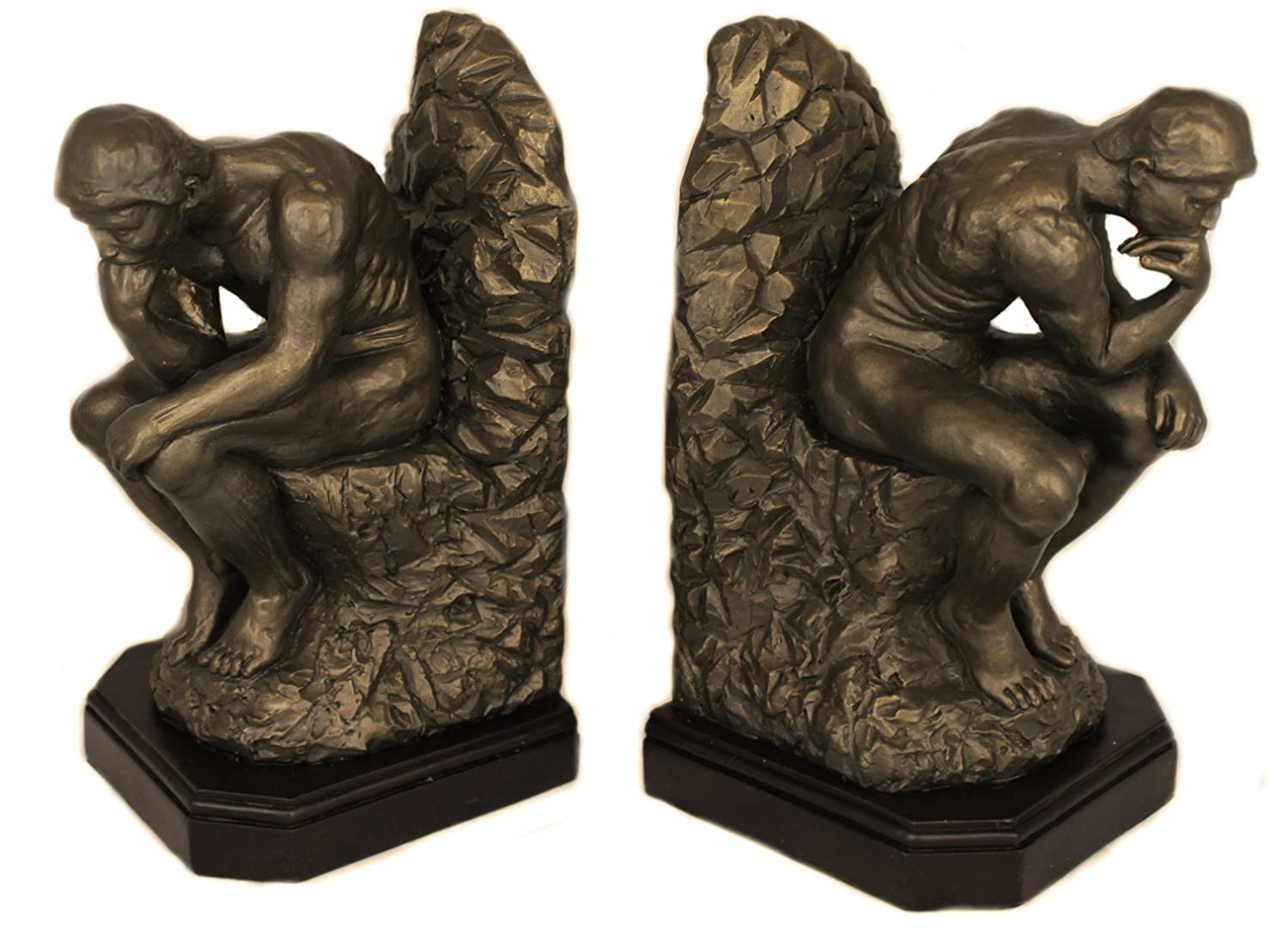 amazon com the thinker bookends pair auguste rodin rodin museum