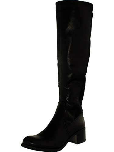 7df7fd5bbe7 Vince Camuto Women's Francel Leather/Neopren Knee-High Leather Boot