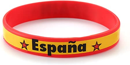 UNDERGROUND KULTURE Muñequera (Pulsera) de Silicona de España (Spain Wristband): Amazon.es: Hogar